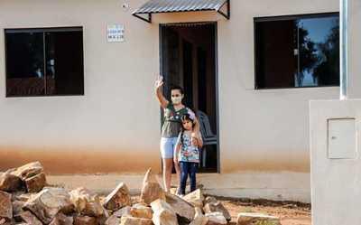 Nuevas viviendas sociales para 43 familias de Loma Grande