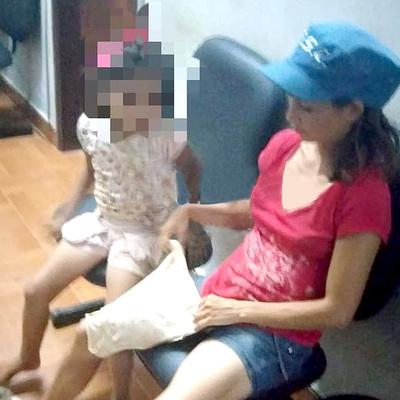 Desalmada madre es detenida tras agredir brutalmente a su hija de 9 años