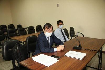 González Daher está hospitalizado por Covid-19 y juicio fue suspendido