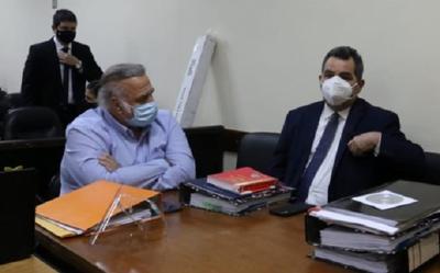 Suspenden juicio de González Daher tras ser internado por causa del Covid-19