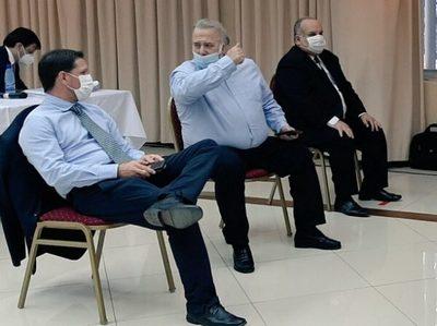 González Daher está internado por Covid-19 y suspenden juicio
