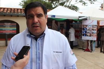 Dr. Morínigo del INERAM dio positivo al Covid-19