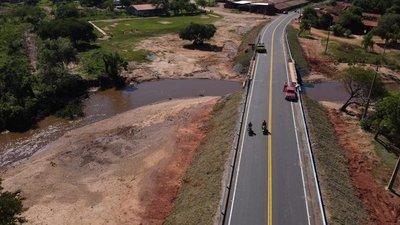 Cordillera suma más de 45 km de asfalto para conectar a Tobatí, Caacupé y Eusebio Ayala