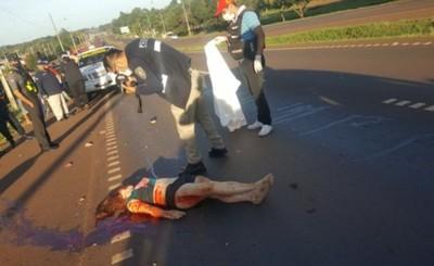 Encuentran muerta a una mujer sobre la Ruta PY 02