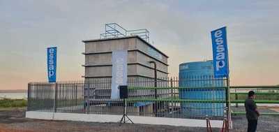 Essap: inauguran planta potabilizadora