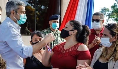 Nuevas viviendas sociales para 43 familias de Cordillera