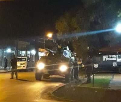 Así fue el ataque a la sede policial en Pedro Juan Caballero