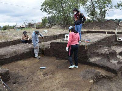 Hallan 12 testigos del pasado intercolonial andino