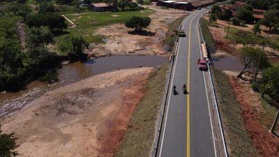 Tobatí, Caacupé y Eusebio Ayala quedan conectados con nuevos 45 km de asfalto