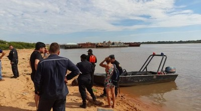 Buscan a adolescente que desapareció en aguas del río Paraguay