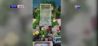 Atacan oratorio en Ñemby y destrozan imagen de la Virgen