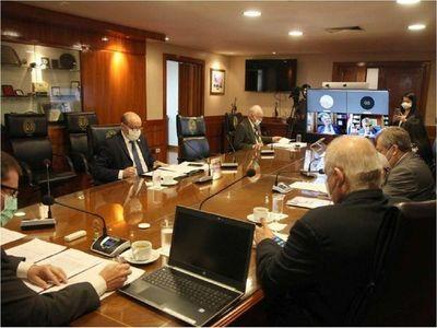 Ministros en cuarentena, tras un positivo de Covid-19 en la Corte