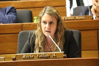 """Rocío Vallejo: """"Es llamativo el silencio sepulcral del presidente ante hechos de corrupción"""""""