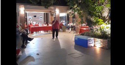 La Nación / Denuncian aglomeración de personas en mitin político de precandidata por Añetete