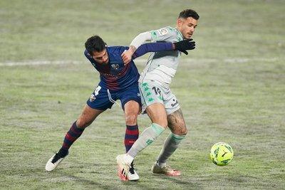 Tonny Sanabria reaparece con un gol de cabeza en triunfo del Betis