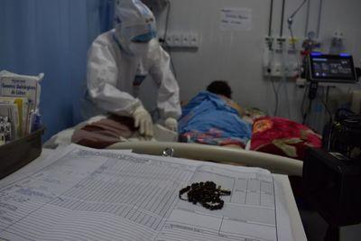 Pandemia está descontrolada en Central y ya no hay camas de terapia en el sector público