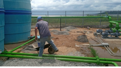 Amplían planta potabilizadora de agua en San Bernardino
