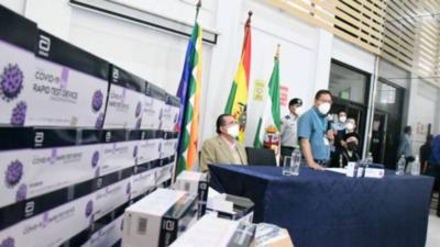 Bolivia tendrá primeras vacunas contra el Covid-19 antes de terminar enero