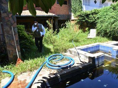 Notificaciones de casos sospechosos de dengue suben  a 287 por semana