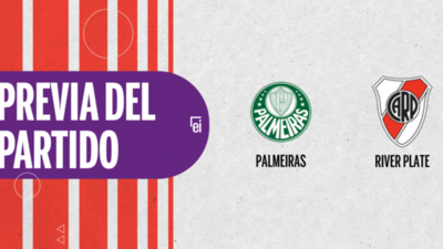 Por la Semifinal 2 se enfrentarán Palmeiras y River Plate