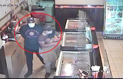 Sin arma y con astucia un hombre asaltó una heladería