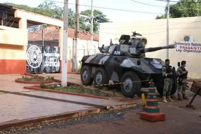 CDE; Interno muere a puñaladas – Prensa 5