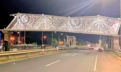 """Puente de Ñandutí: """"La obra no está inclinada, sino no que no está terminada"""", explica MOPC"""