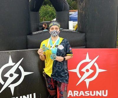 Altoparanaense sube al podio en Arasunú