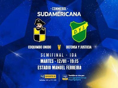Día de semifinales de la Sudamericana en Asunción