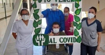 La Nación / Altas en el Hospital de Itauguá: una luz de esperanza contra el COVID-19