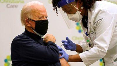 Aplicaron la segunda dosis de la vacuna contra el coronavirus a Biden