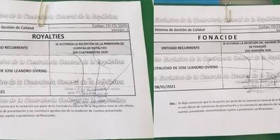 MUNICIPALIDAD DE JOSÉ L. OVIEDO CON RENDICIONES DE CUENTAS AL DÍA.