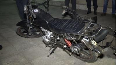 Aspirante a poli cayó preso por robar motos