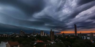 Pronostican lluvias con tormentas eléctricas y fuertes ráfagas de vientos