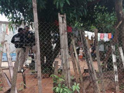Detenidos tras allanamientos por homicidio de un joven en Ñemby