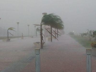 Nueva alerta meteorológica para nueve departamentos de la Región Oriental