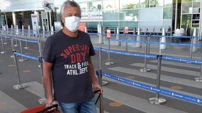 Gorosito llegó al país, no quiso desmentir nada y dejaría Olimpia