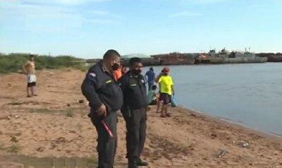San Antonio: Hallan cuerpo de joven de 15 años desaparecido ayer en el río Paraguay