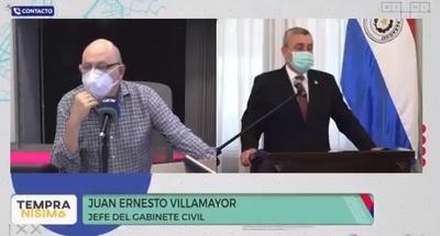 """Villamayor no tiene apego al cargo pero adelanta que interpelación y voto de censura """"no tienen carácter vinculante"""""""