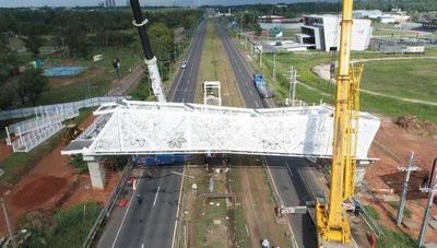 Solicitan al MOPC informe sobre costosa pasarela peatonal – Prensa 5