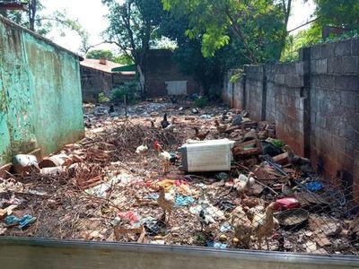Intervienen viviendas con potenciales criaderos de mosquitos
