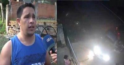 La Nación / Roban auto con arma de fuego
