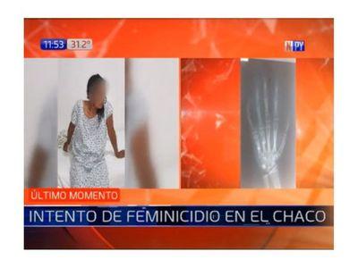 Intento de feminicidio en Benjamín Aceval