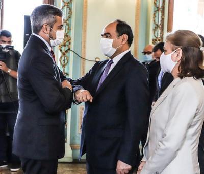 Nuevo embajador paraguayo en Chile anunció amplia agenda económica con el vecino país