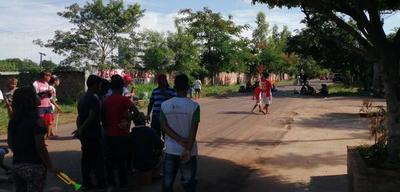 Indígenas se manifestaron de forma prepotente en Coronel Oviedo – Prensa 5