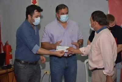 Gobernación hizo entrega de aportes a varias Juntas de Saneamientos de Misiones
