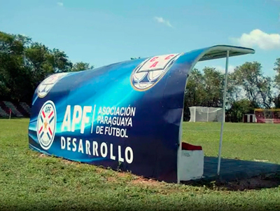 Así luce el estadio Profesor Luciano Zacarías, con los trabajos de mejora