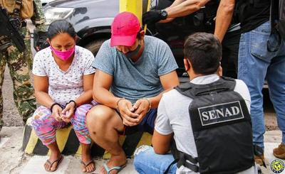 Capturan a pareja de microtraficantes en Asunción •