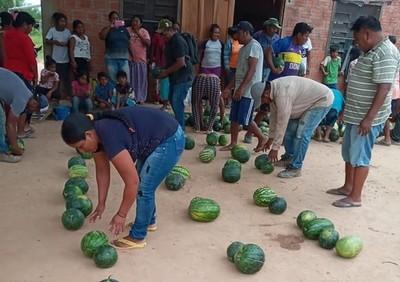 Ejemplo de hermandad: Comunidades indígenas se ayudan en medio de crisis
