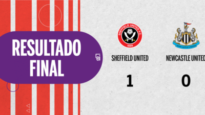 Con un solo tanto, Sheffield United derrotó a Newcastle United en el estadio Bramall Lane
